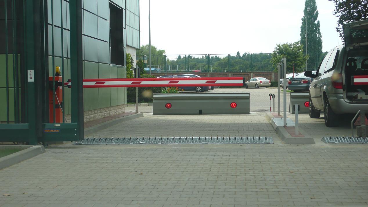 Kolczatki parkingowe